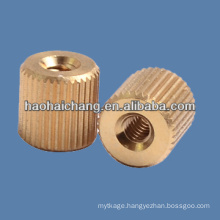 Custom Design Automatic Lathe Brass Round Screw Nuts